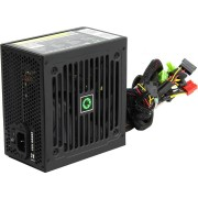 Power Supply ATX 500W GAMEMAX GE-500, 12cm Fan, 80PLUS, RetailAPFC,1x24PIN,12V8pin(4+4),4xSATA,1xPCI-6+2PIN,3x4PIN+3.3V 18A+5V 16A+12V 38A 456W