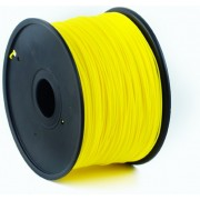 ABS Filament Fluorescent Yellow, 1.75 mm, 1 kg, Gembird, 3DP-ABS1.75-01-FY-     http://gembird.nl/item.aspx?id=9460
