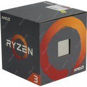 Процессор AMD Ryzen 3 1300X 4-Core, 4 Threads, 3.5-3.7GHz, Unlocked, 10MB Cache, AM4, Wraith Stealth Cooler, BOX