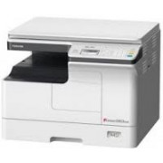 MFP Toshiba e-Studio 2303AM, Mono Copier/Printer/Scanner/Net, A3/14ppm, A4/23ppm, 2400x600dpi, 25–400%, 52-216g/m2,512Mb, 1x250+100-sheet ,59k pag per month, Starter KIT: Drum OD-2505_59k pag, Developer D-2505_65k pag,Toner T-2309E_17500 par A4 at 6%