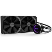 """AIO Liquid Cooling NZXT Kraken X62 2x140mm Fans, CAM RGB Lightning, (RL-KRX62-02) Dimensions : Radiator: 315 x 143 x 30mm Pump: 80 x 80 x 52.9mm Material(s) : Aluminum, copper, plastic, ultra-low evaporation rubber, nylon sleeving Weight : 1.29kg CP"