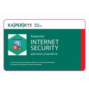 Renewal - Kaspersky Internet Security Multi-Device - 1 devices, 12+3 months, Card