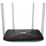 MERCUSYS AC12  AC1200 Dual Band Wireless Router, 867Mbps at 5Ghz + 300Mbps at 2.4Ghz, 802.11ac/a/b/g/n, 1 WAN + 4 LAN, 4 external antennas
