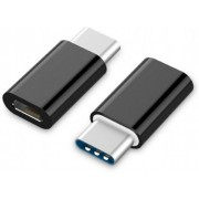 Adapter microUSB2.0-Type-C Gembird  A-USB2-CMmF-01, microUSB2.0 to Type-C adapter,  MicroUSB (female) to USB type-C (male)
