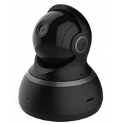Xiaomi YI Dome Camera 1080P EU, Black, Pan/Tilt IP Camera, WiFi, Video resolution: 1080p, F2.5 DFOV 112° angle lens, 2-way audio connection, Motion Tracking, Night Vision, 360° Panoramic Snapshot, Baby crying, MicroSD up to 64GB, Andoid/iOS