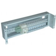 "19"" 3U Electrical Distribution Panel, ЕРП-3U-9005"