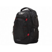 "15.6"" NB Backpack - SUMDEX RED (S) ""City II"", Black, Main Compartment: 38 x 28 x 4 cm, Dimensions: 46 x 33 x 20 cm"