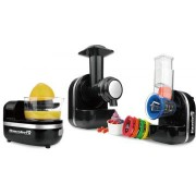 3 IN 1 MINI KITCHEN ROBOT SORBET MAKER HAUSBERG HB-7521 negru