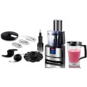 """MULTIFUNCTION  Food Processor HAUSBERG HB-7522 negru"""