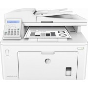 HP LaserJet Pro MFP M227fdn Print/Copy/Scan/Fax 28ppm, 256MB, up to 30000 monthly, 6.8cm  touch screen, 1200dpi, Duplex, 35 sheets ADF,  Hi-Speed USB 2.0, Fast Ethernet 10/100Base-TX, HP ePrint, Apple AirPrint™, White