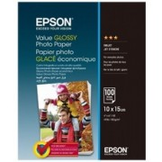 4R 183g 50p Epson Value Glossy Photo Paper
