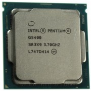 """CPU Intel Pentium G5400 3.7GHz (2C/4T,4MB, S1151, 14nm,54W, Integrated Intel HD Graphics 610  ) Tray 8th Gen"""