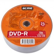 ACME DVD-R 4,7GB 16X 25pack shrink