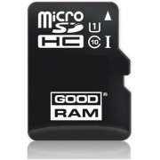 GOODRAM micro SDHC 16GB CL10 UHS I + adapter