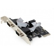 """PCI-Express  x2 Serial port RS232, (COM DB9M), Gembird SPC-22 -      https://gembird.nl/item.aspx?id=9916"""