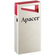 Флешка Apacer AH112, 16GB, USB 2.0, Silver-Red