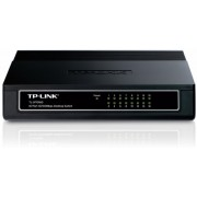 TP-LINK TL-SF1016D 16-port 10/100M Desktop Switch,16 10/100M RJ45 ports, Plastic case