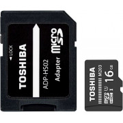 16GB Toshiba microSD M203 UHS I U1 with adapter R100/W10 MB/s THN-M203K0160EA