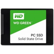 "2.5"" SSD 120GB  Western Digital WDS120G1G0A  Green™, SATAIII, Sequential Reads: 540 MB/s, Sequential Writes: 430 MB/s, Max Random 4k: Read: 37,000 IOPS / Write: 63,000 IOPS, 7mm, Silicon Motion SM2256S controller, NAND TLC"