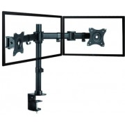 "Table/desk stand ITech MBS-12F for 2 monitors 13""-27 "", 75x75, 100x100, up to 8kg"