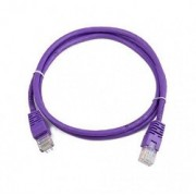 """0.25m, Patch Cord  Purple, PP12-0.25M/V, Cat.5E, Cablexpert, molded strain relief 50u"""" plugs -     http://cablexpert.com/item.aspx?id=7790"""