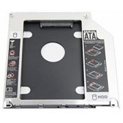 Rack Caddy Spacer HDD/ SSD pentru CD/DVD Bay, pentru Notebook, Normal, 12mm, SPR-25DVDN