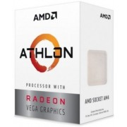 AMD Ryzen Athlon 200GE, Socket AM4, 3.2GHz (2C/4T), 4MB L3, Integrated Radeon Vega 3 Graphics, 14nm 35W, Box