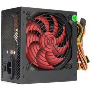 PSU HPC ATX-550W, 12cm red fan, 24 pin (with nylon cover), 1x 8pin(4+4), 1x 6pin, 2x IDE, 3x SATA, black cover, 1.2m EU cable