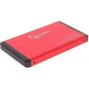 Gembird EE2-U3S-2-R, External enclosure for 2.5'' SATA HDD with USB3.0(5Gb/s) interface, Red