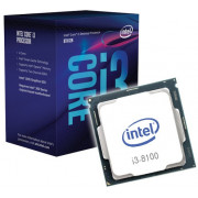 CPU Intel Core i3-8100 3.6GHz Quad Core, (LGA1151, 3.6GHz, 6MB, Intel UHD Graphics 630) Tray (procesor/процессор)