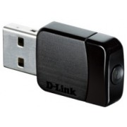 USB2.0 Wireless LAN Adapter, D-Link DWA-171/A1C, AC600, MU-MIMO