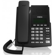 """Fanvil X1P Black, VoIP phone, POE support without power supply"""