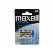 MAXELL Alcaline Battery LR6/AA, 4pcs, Blister pack