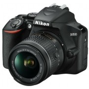"Nikon   D3500 kit AF-P 18-55VR bk  24,2Mpx CMOS  23,2x15,4mm; EXPEED 4; ISO 100-25600; Full HD(60p); LiveView; 5 frames per second; Bluetooth 4.1 with SnapBridge; battery live 1550 shots; View Screen 3,0"" 921k dot; 420-pixel RGB 3D Color Matrix Metering I"