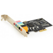 Gembird SC-5.1-4,  5.1 channel PCI-Express Sound Card, CMI8738CH6