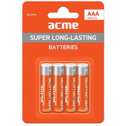 ACME Batteries AAA  Alkaline LR03/4pcs