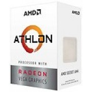 CPU AMD Athlon 220GE Dual Core, 4 Threads, 3.4GHz, AMD Radeon Vega 3 graphics, 5MB Cache, AM4, Cooler, BOX