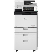 MFP Canon iR-ADVC256i III, Color Printer/Copier/Color Scanner/ DADF(100-sheet),Duplex,Net,  A4-25/25ppm,25–400% step1%, RAM 3Gb,HDD 250GB,1200x1200dpi,Scan 600x600dpi-24 bit, 1x550-sheet Cassette,60-163г/м2,Not in set-Toner C-EXV55Black_23k,Color_18k