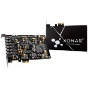ASUS Xonar AE 7.1 Gaming Audio Card, 192kHz/24-bit, 7.1 ch. high resolution audio and 150ohm headphone amp, 110dB signal-to-noise ratio (SNR),  PCI Express