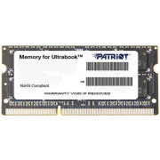 4GB SODIMM DDR3 Patriot Signature Line PSD34G1600L2S PC12800 1600MHz CL11, 1.35V (memorie pentru laptopuri/память для ноутбуков)
