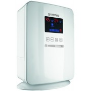 """Air Saturator GORENJE H50DW, Recommended room size 50m2, water tank 5l, stepless power control, humidistat, timer, ionisation, white"""