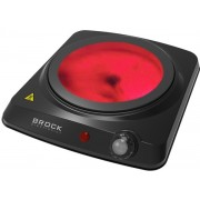 """Cooker Mini Brock HPI3001BKIR, 2000W, 1hob, black"""