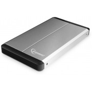 Gembird EE2-U3S-2-S, External enclosure for 2.5'' SATA HDD with USB3.0(5Gb/s) interface, Aluminium case, Silver
