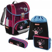 Pop Star LIGHT 2 Schoolbag Set, 4 pieces