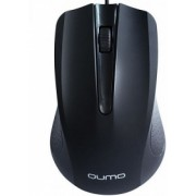 Мышь Qumo M66, Optical,1000 dpi, 3 buttons, Ambidextrous, Black, USB