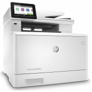 "All-in-One Printer HP Color LaserJet MFP M479fdw, White, Fax, A4, 27ppm, Duplex, 256 MB, Up to 50000 p., 50-sheet  ADF, 4,3"" touch display, WiFi Direct,USB 2.0,Ethernet 10/100/1000,HP PCL 5,6,Postcript 3, HPePrint, Apple AirPrint (HP 415A/X  B/C/Y/M)"