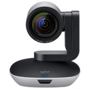 Logitech GROUP, Video Conferencing System for mid to large rooms, Full HD 1080p 30fps, Smooth motorized pan, tilt and zoom, Full-duplex speakerphone