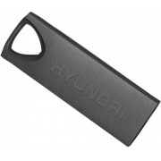 16GB USB2.0  Hyundai Bravo Deluxe Metal casing, Space Gray, Compact and lightweight, (Read 18 MByte/s, Write 10 MByte/s)
