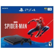 Playstation 4 Slim 1 TB + Spider Man