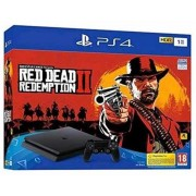Playstation 4 Slim 1 TB + Red Dead Redemption